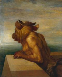 The Minotaur 1885 by George Frederic Watts 1817-1904