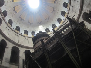 Site of Resurrection, Holy Sepulchre Church, Jerusalem