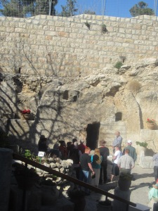 The Garden Tomb, near the place of The Skull, Jerusalem
