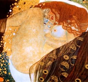 Klimt - Danae (1905)
