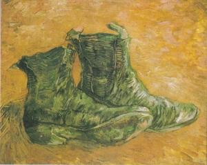 van Gogh - Pair of Shoes (1886b)