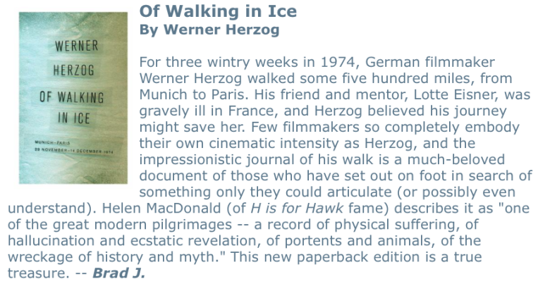 Walking in Ice