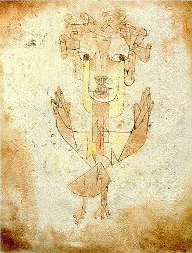 Klee - Angelus Novus (1920)