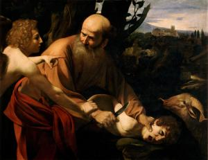 Caravaggio - Sacrifice of Isaac